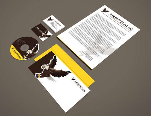 Arbitrans Logo & Stationery