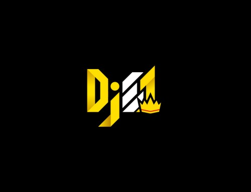 DjE1 logo design